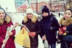 Акция в Синельниково