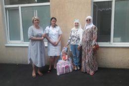 ВАМ посетили детскую инфекционную больниц